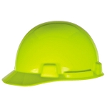 SmoothDome Cap w/ 4-Point Fas-Trac, Hi-Vis Yellow/Green