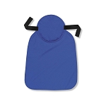 Ergodyne Chill-Its 6717 Evaporative Cooling Hard Hat Pad with Neck Shade - Blue