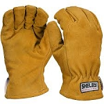 Shelby 5283 Cowhide with Crosstech, Gauntlet