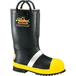 Hellfire Rubber Insulated Boot, Lug Sole