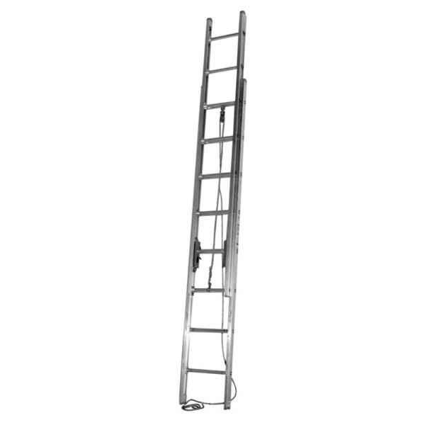 3 section extension ladder aluminum ladders. Black Bedroom Furniture Sets. Home Design Ideas