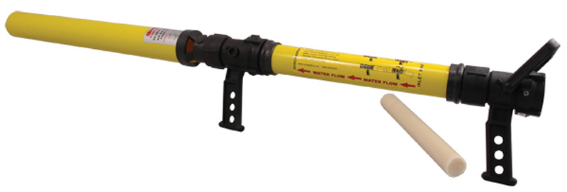 Fire foam gun scotty fighting system
