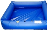 Husky Haz/Mat Decon Pools with All Air Sides - 40oz Vinyl