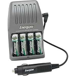 Energizer® 15 Minute Charger for AA/AAA Batteries (Batteries Included)