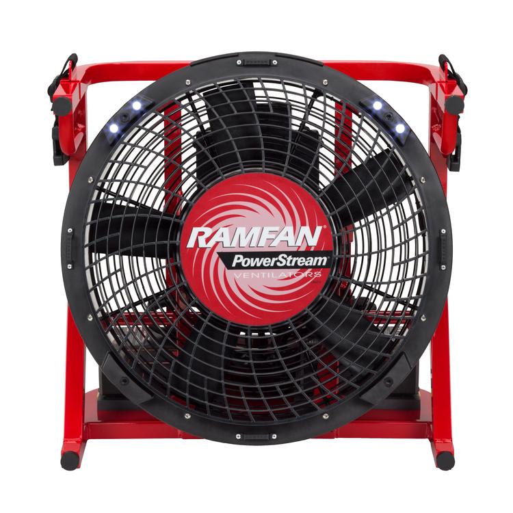 Battery Operated Heat Transfer Fan Heat Removal Fan