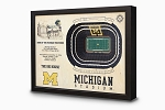 Stadium Views; Wall Art Series; Football; Michigan Wolverines