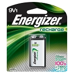 Energizer® Recharge® 9V Battery