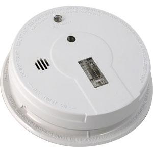 interconnect ionization smoke alarm w exit light home. Black Bedroom Furniture Sets. Home Design Ideas