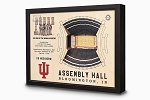 Stadium Views; Wall Art Series; Basketball, Indiana Hoosiers