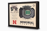 Stadium Views; Wall Art Series; Football; Nebraska Cornhuskers