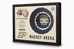 Stadium Views; Wall Art Series; Basketball; Purdue Boilermakers