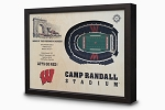 Stadium Views; Wall Art Series; Football; Wisconsin Badgers