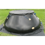 Husky Top Cover for Standard Frame Folding Tanks - 10oz Vinyl