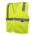 GSS Safety Standard Class 2 Five Point Breakaway Vest With 2 Pockets