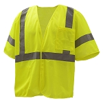 GSS Safety Standard Class 3 Mesh Hoop & Loop Safety Vest