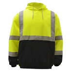 GSS Safety Class 3 Pullover Fleece Sweatshirt With Black Bottom