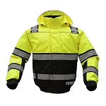 GSS Safety Onyx 3-IN-1 Winter Bomber Waterproof Jacket