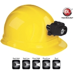 NightStik Dual-Light Headlamp with Hard Hat Clip & Mount