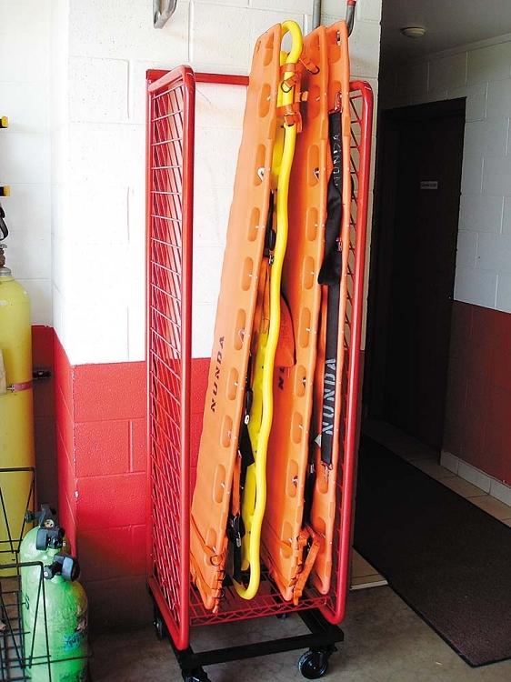 Stretcher Rack Stretcher Storage Feld Fire