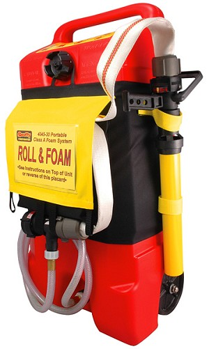 Roll foam kit fire nozzles turnout gear wildland