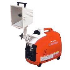 Honda EU2000i Generator with 500 Watt Light