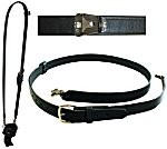 Fireman's Radio Strap With Motorola Clip, XL