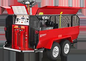 Liberty Ii Trailer Scott Compressors Supplied Air