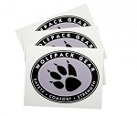 "Wolfpack Gear 3"" Oval Logo Sticker"