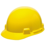 SmoothDome Cap w/ 4-Point Fas-Trac, Yellow