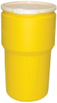14 Gallon Open Top Drum, Yellow
