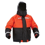 Kent Deluxe Flotation Jacket with ArcticShield Technology Hood - Orange/Black