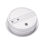 120 VAC Photoelectric Smoke Alarm (AC/DC) w/Battery Backup