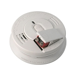 Interconnect Ionization Smoke Alarm w/Front Load 9V Battery Backup
