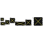 Paratech Model 234 - 7 Lift Bag Set