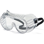 Perforated Goggles w/ Elastic Strap
