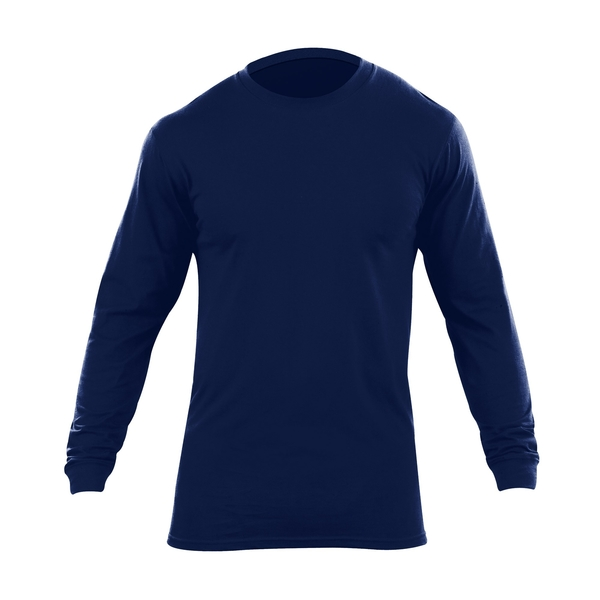 Long Sleeve Utili T Shirt Dark Navy Pack Of 2