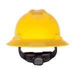 V-Gard Non-Slotted Hats w/ Fas-Trac Suspension, Yellow