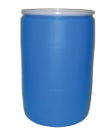 55 Gallon Open Top Drum, Blue