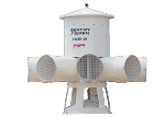Sentry Siren Model 7V8 7.5hp Warning Siren
