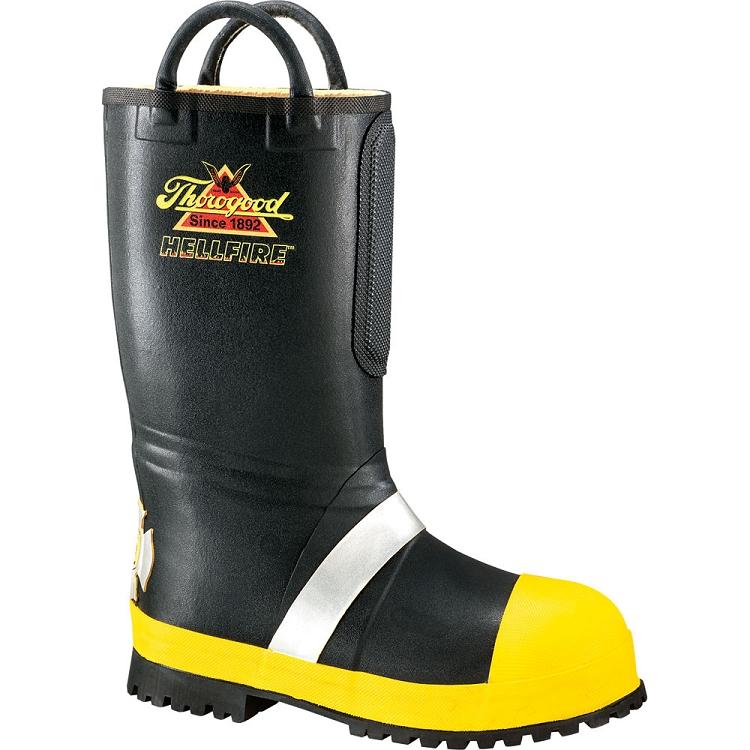 Thorogood Hellfire Boots Rubber Fire Boots Feld Fire