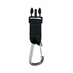 Gear Keeper Quick Connect II Male Adapter with Carabiner Clip