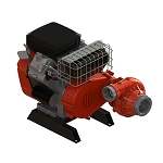 Waterax B2X 18 HP Vehicle Mount Horizon Drive Pump