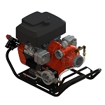 Waterax B2X 18 HP Portable Mid Range Fire Pump