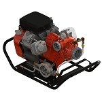 Waterax B2X 23 HP Portable Fire Pump