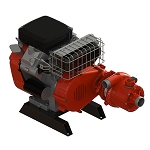 Waterax BB-4 18 HP Vehicle Mount Horizon Drive Pump
