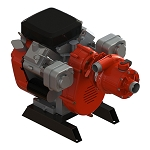 Waterax BB-4 18 HP Vehicle Mount Vertical Drive Pump