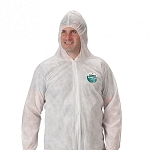 Lakeland Zone Gard Coverall with Attached Hood