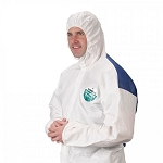 Lakeland MicroMax NS Cool Suit Coverall with Attached Hood
