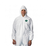 Lakeland SafeGard Economy SMS Coverall with Attached Hood