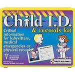 13-Piece Child ID and Records Kit, Plastic Case